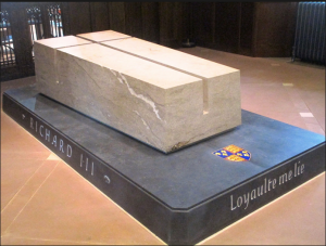 The tomb of Richard III in Leicester Cathedral