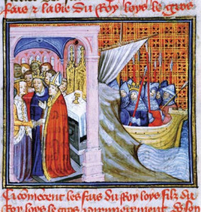 Wedding of Eleanor and Louis VII