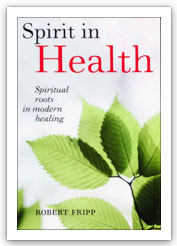 Spirit in Health (title on front cover)